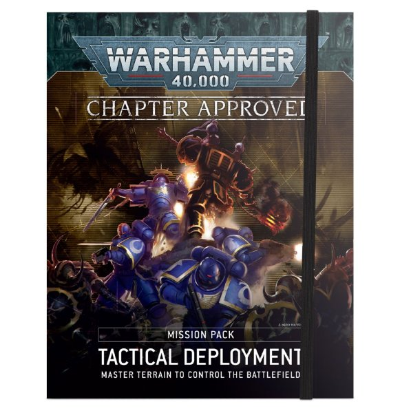 Warhammer 40.000 Chapter Approved Tactical Deployment Mission Pack (Englisch)