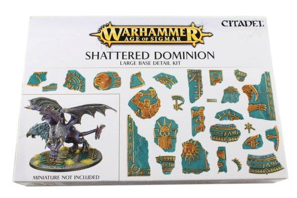 Shattered Dominion: Basegestaltungsset für große Bases