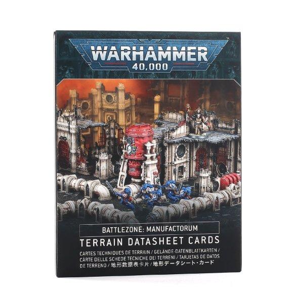 Battlezone: Manufactorum - Terrain Datasheet Cards (Englisch)