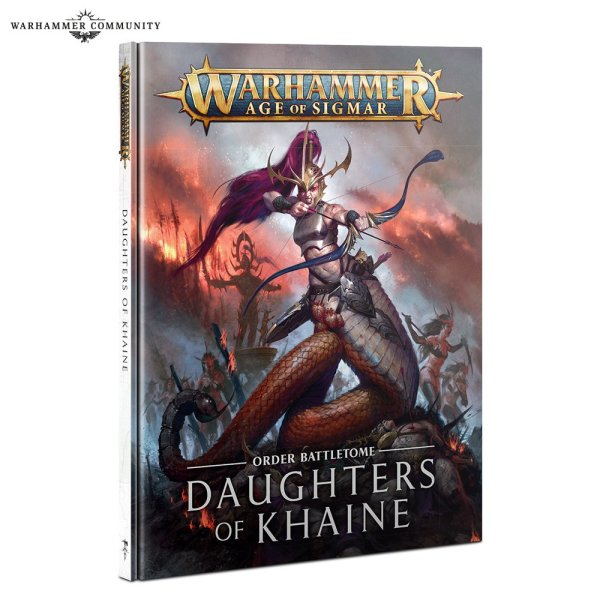 Battletome: Daughters of Khaine (Englisch)