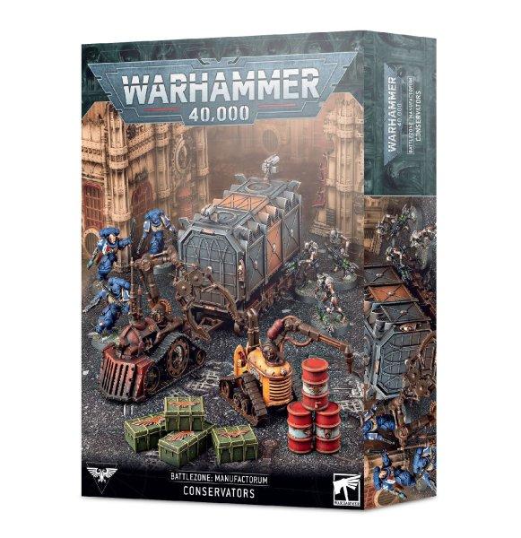 Battlezone: Manufactorum - Conservators kit