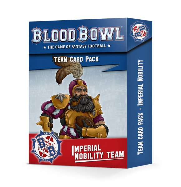 Blood Bowl: Imperial Nobility Card Pack (Englisch)