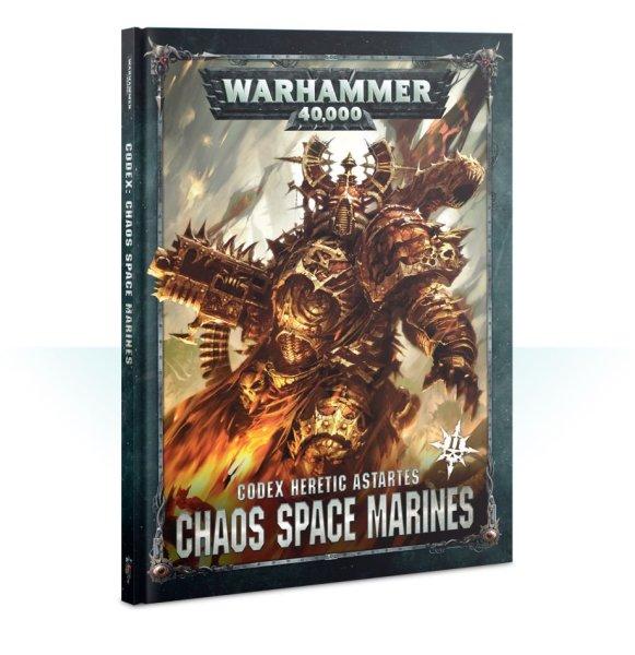 Codex: Chaos Space Marines Version 2 (Englisch)