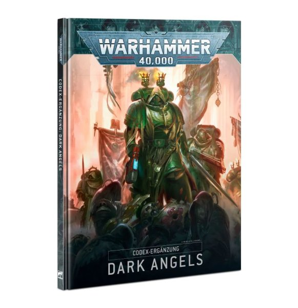 Codex Supplement: Dark Angels 9th Ed. (Englisch)