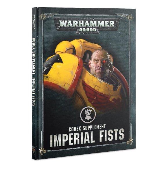 Codex Supplement: Imperial Fists (Englisch)