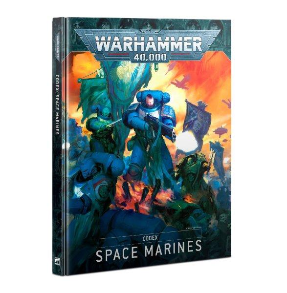 Codex: Space Marines 9th Ed. (Englisch)