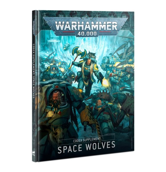 Codex Supplement: Space Wolves 9th Ed. (Englisch)