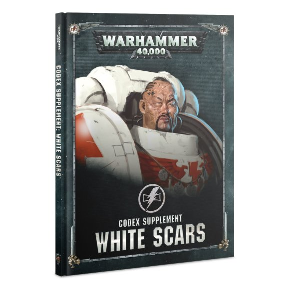Codex Ergänzung: White Scars (Deutsch)