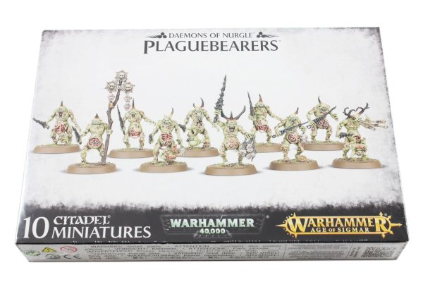 Plaguebearers of Nurgle