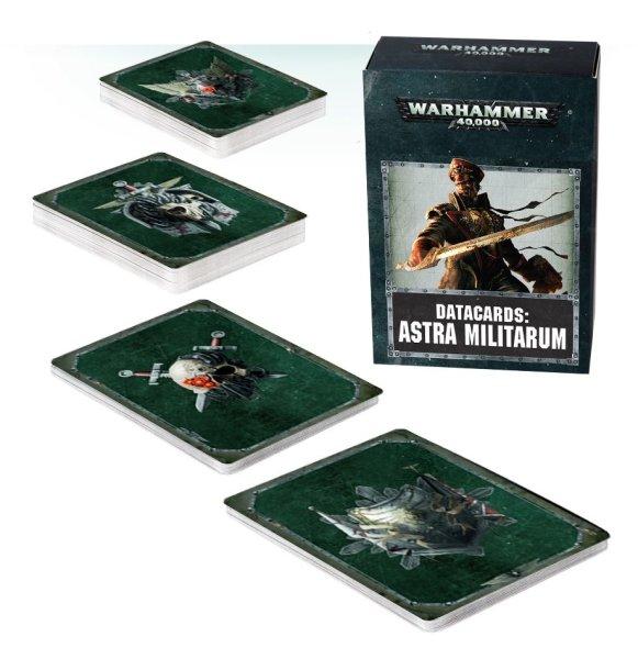Datacards: Astra Militarum (Englisch)