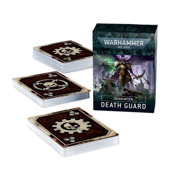 Datacards: Death Guard (Englisch)