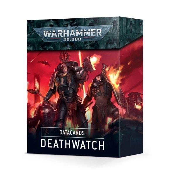 Datacards: Deathwatch (Englisch)