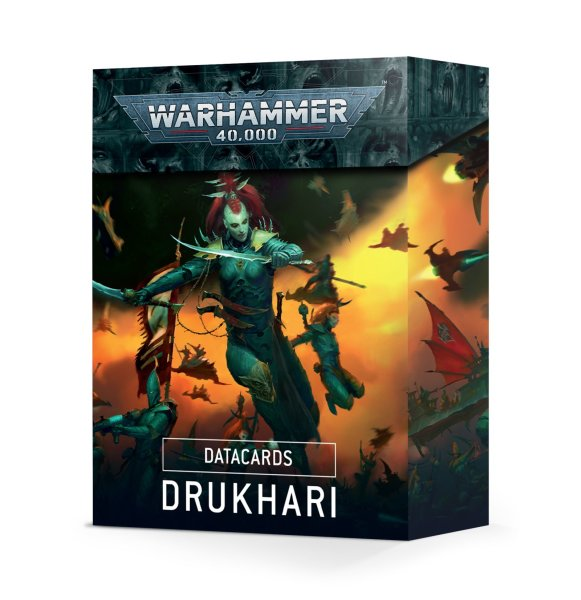 Datacards: Drukhari (Englisch)
