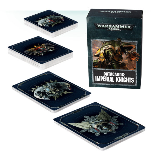 Datacards: Imperial Knights (Englisch)