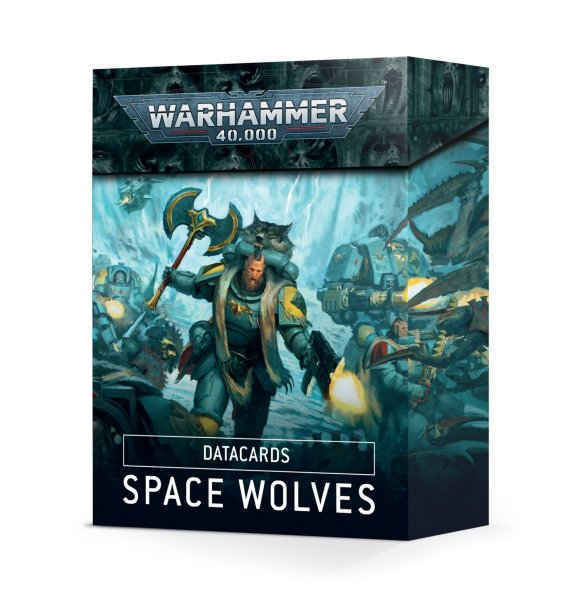 Datacards: Space Wolves (Englisch)