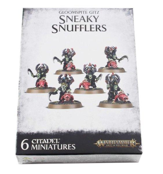 Sneaky Snufflers mit Snufflesquigs
