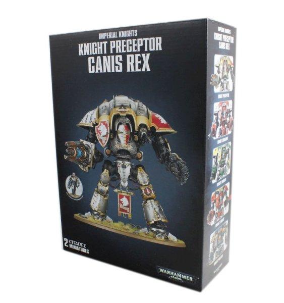Imperial Knight Preceptor Canis Rex/Knight Warden