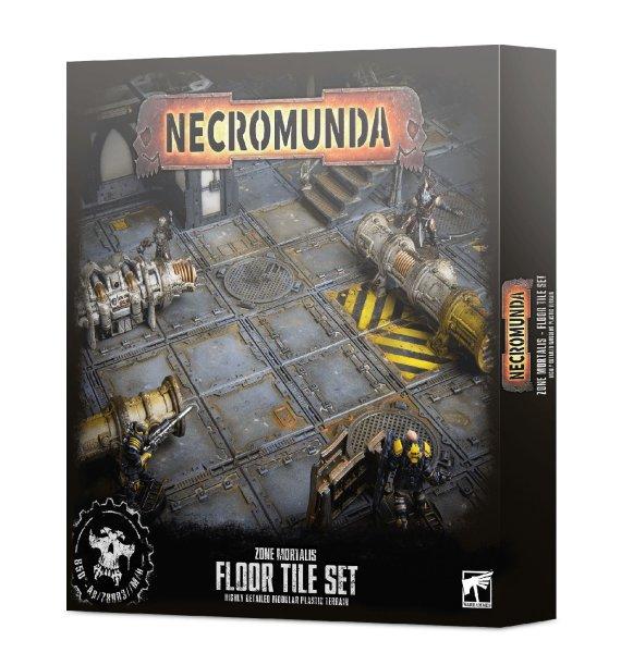 Necromunda: Zone Mortalis Floor Tile Set - Mail-Order