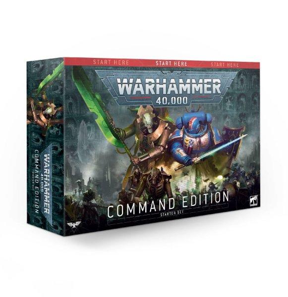 Warhammer 40.000 Starterset - Command Edition (Englisch)