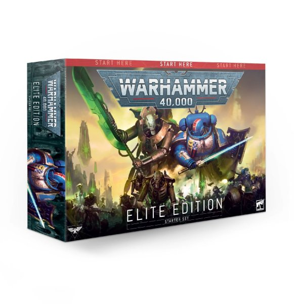 Warhammer 40.000 Starterset - Elite Edition (Englisch)