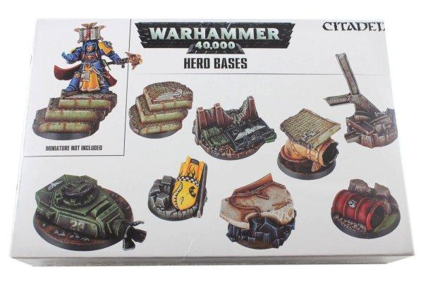 Helden-Bases: Warhammer 40.000