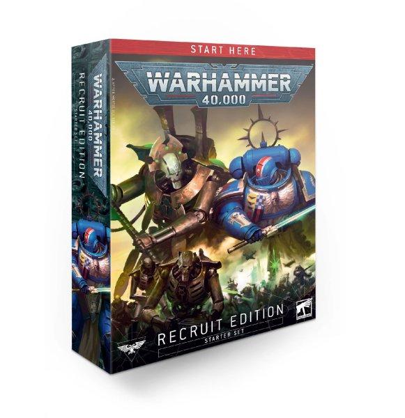 Warhammer 40.000 Starterset - Recruit Edition (Englisch)