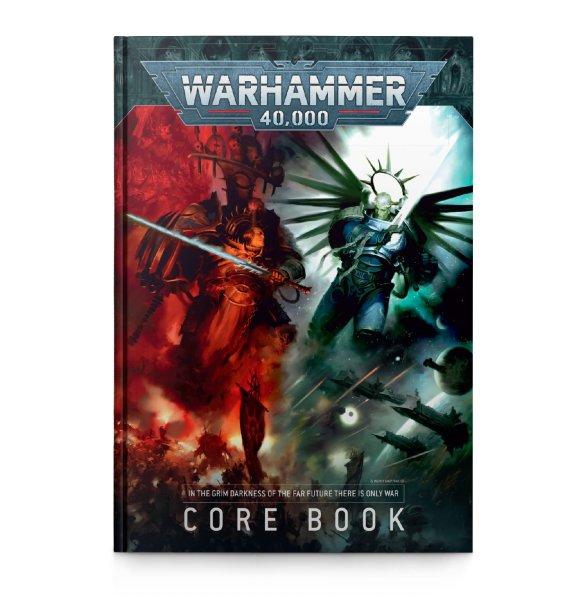 Warhammer 40.000 Regelbuch 9te Edition (Deutsch)