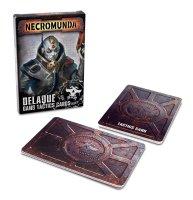 Necromunda: Delaque Gang Tactic Cards (Englisch)
