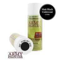 The Army Painter: Color Primer, Matt Black (400 ml)