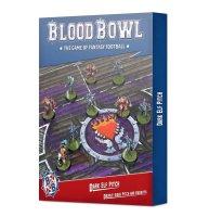 Blood Bowl: Dark Elf Spielfeld & Unterstände
